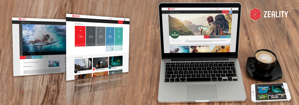 Manage Your Immersive Media Content With Zeality